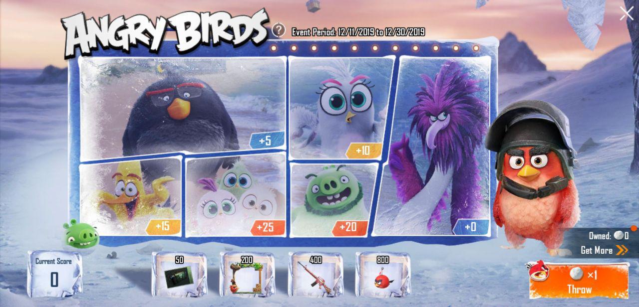PUBG Angry Bird
